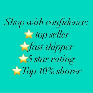 Other - Shop with confidence!!